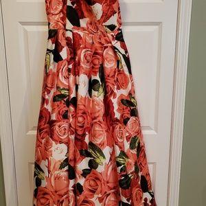 Women's Prom Ball Gown Formal Evening Dress